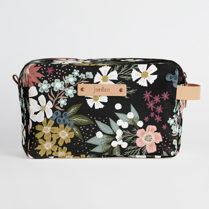 Wildflower Scatter Dopp Kit, $34