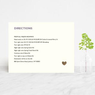 Destination Foil-Pressed Direction Cards