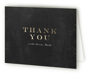 You Are Invited Lettered Adult Birthday Party Thank You Cards