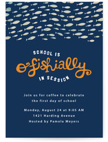 O'Fishally Back-To-School Party Online Invitations