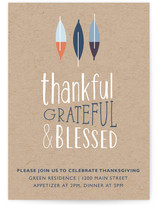 So Grateful Thanksgiving Online Invitations