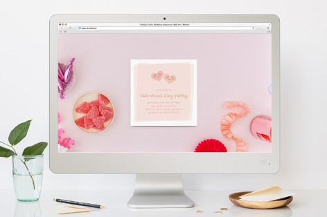 Talking Hearts Valentine's Day Online Invitations