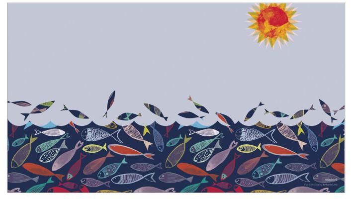 Fun in the sea Desktop Wallpaper