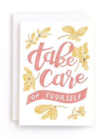 Take Care Friendship Greeting Cards