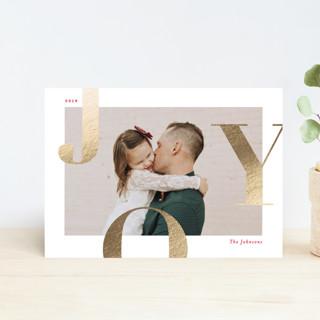 Supreme Joy Foil-pressed Postcard