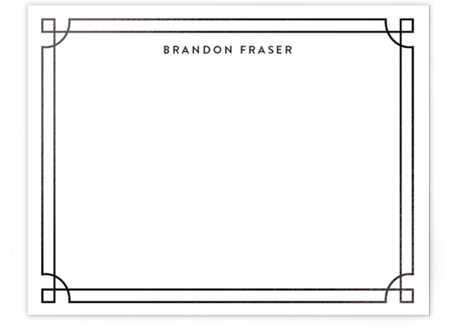 Classique Foil-Pressed Personalized Stationery