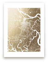 Savannah Map by Melissa Kelman