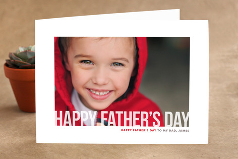 Studio Crop Father's Day Greeting Cards