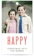 We're Happy Gift Tags