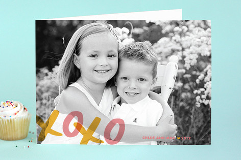 XOXO Just Because Greeting Cards