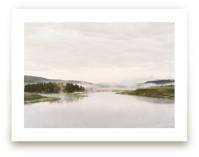 Misty lake by Kamala Nahas