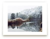 Winter Kayak by Eva Marion
