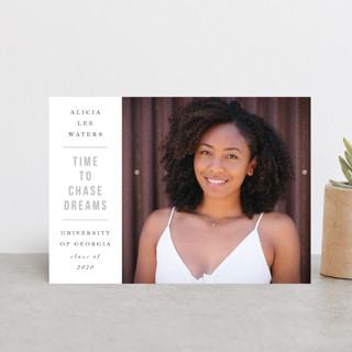 Chase Dreams Graduation Announcement Postcards