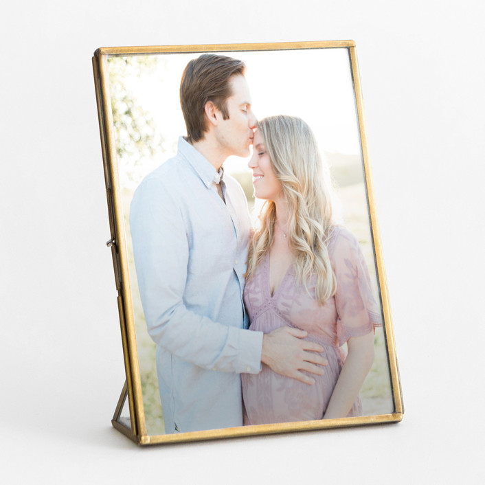 Brass Standing Picture Frame