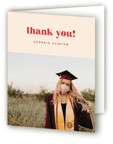 Onward & Upward Graduation Announcement Thank You Cards