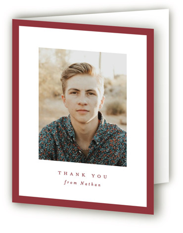 Wrapped Graduation Announcement Thank You Cards