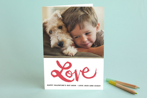 Love is in the Air Valentine's Day Greeting Cards