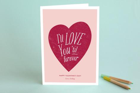 Til Forever Valentine's Day Greeting Cards