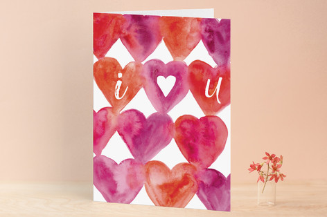 I Heart You Valentine's Day Greeting Cards