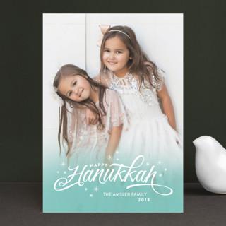 Ombre Stars Hanukkah Petite Cards