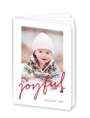 Joyful Memories Holiday Booklette Card