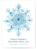 Simple Snowflake by Jessie Steury