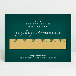 Joy Beyond Measure Business Holiday Cards