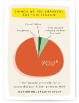 Thankful Pie Chart by J. Dario Design Co.