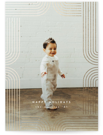 Arches Foil-Pressed Holiday Cards