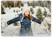 Joyful Greeting Foil-Pressed Holiday Cards