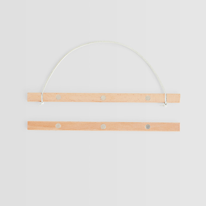 Wood Hanging Bar