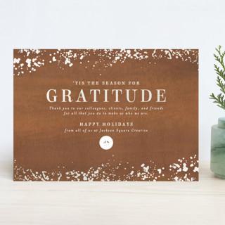 Season of Gratitude Gloss-Press™ Holiday Cards