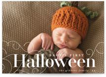 Baby's First Halloween Halloween Cards