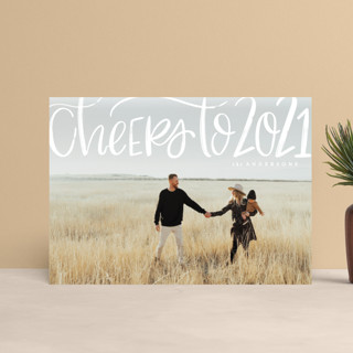 Brushed Cheer Holiday Petite Cards