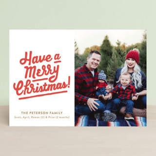 My Type of Christmas Holiday Petite Cards
