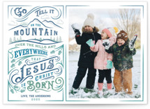 Go Tell it on the Mountain Holiday Petite Cards