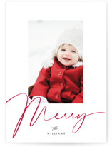 a merry baby in red by Benita Crandall