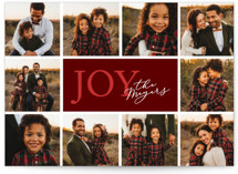 Joy Surrounds by Snow and Ivy