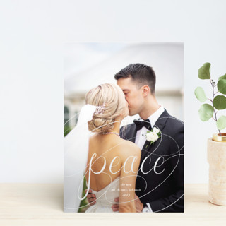 Peaceful Chalk Holiday Petite Cards