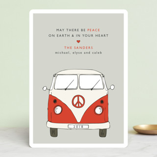 The Peace Van Holiday Cards