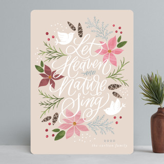Let Heaven and Nature Sing Holiday Cards