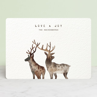 Merry Christmas, My Deers Holiday Cards