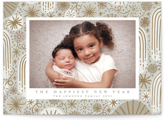 Boom Fizzle Fizzle New Year's Photo Cards