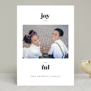 Statement New Year Photo Cards