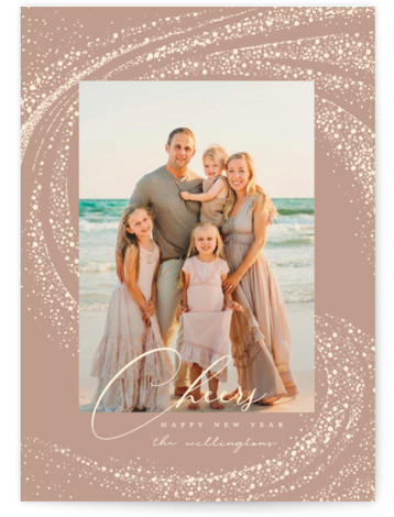 Cheer Rays New Year's Photo Cards