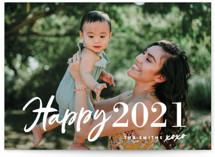 New Year XOXO New Year Photo Cards