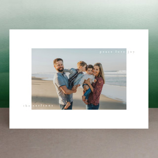 happy minimal New Year Photo Cards