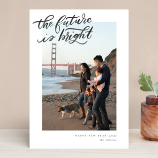 A Bright Future New Year Photo Cards