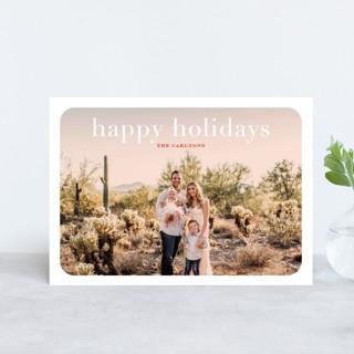 rosé overlay Holiday Postcards