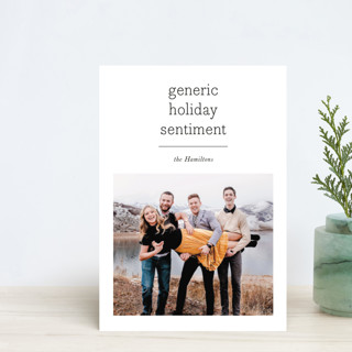 Generic Holiday Postcards